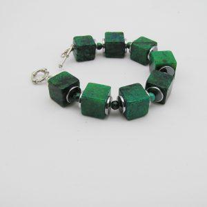 Chrysocolla armband A CHR 003