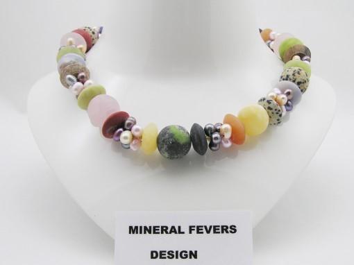 Mineraal sieraden