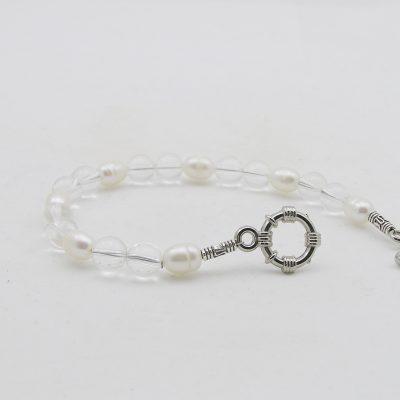 Bergkristal armband A BER 036