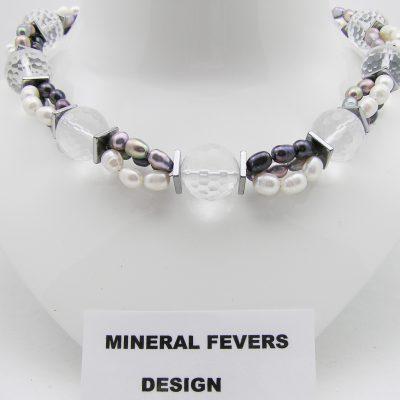 Bergkristal ketting 165