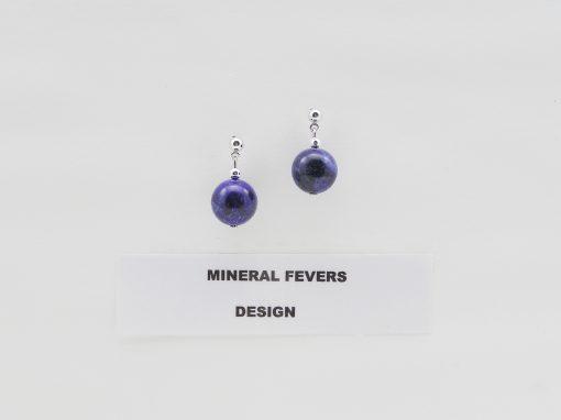 Lapis Lazuli oorhangers O LAP 002