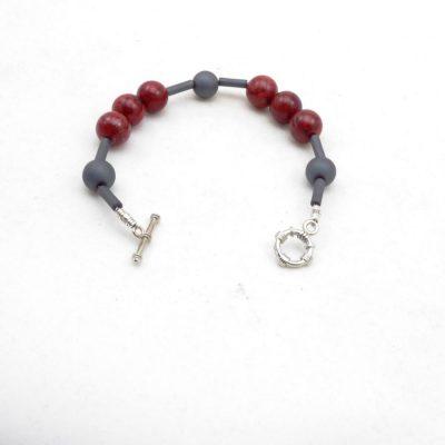 Schuimkoraal armband A KOR S 020