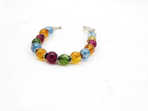 Bergkristal armband A BER 048