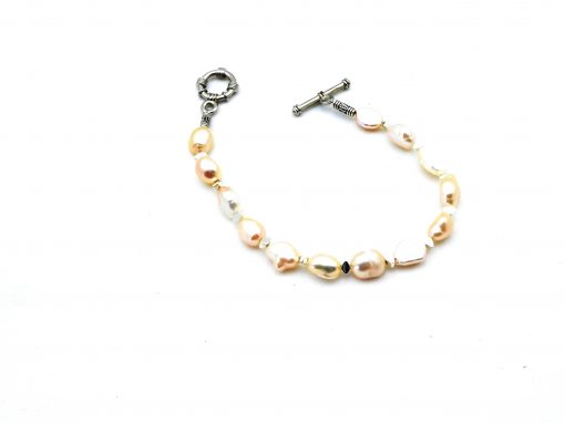 Zoetwaterparel armband A ZWP 382