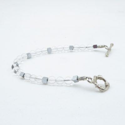 Bergkristal armband A BER 053