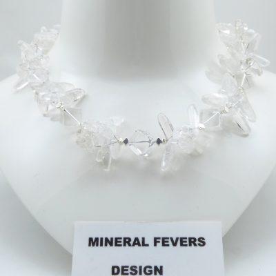 Bergkristal ketting K BER 240
