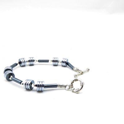 Hematiet armband A HEM 359