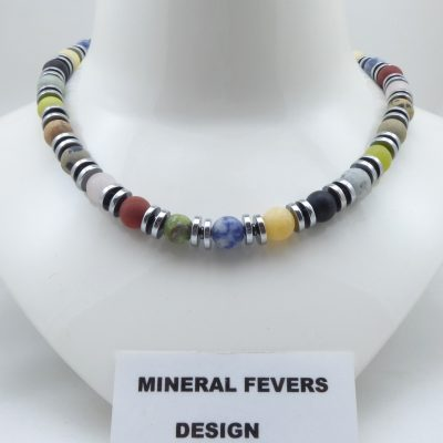 Multi color ketting K MUL 388