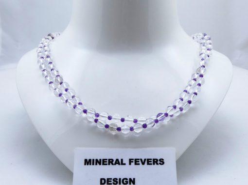 Bergkristal ketting K BER 243